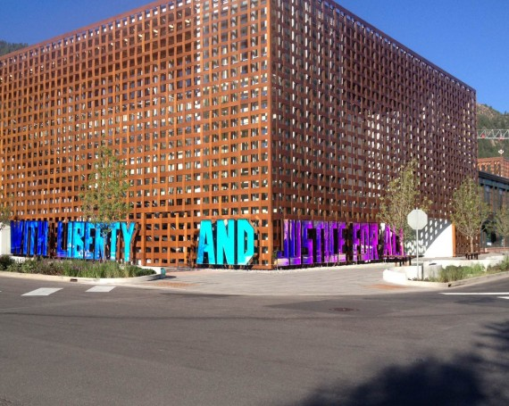 With Liberty and Justice for All – Aspen Art Museum